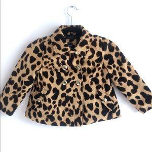 BabyGap Cheetah Print Peacoat